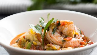 Pepper Pot Shrimp As Made By Top Chef's Chris Scott