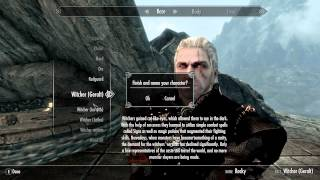 Skyrim Mods: Witcher Mods