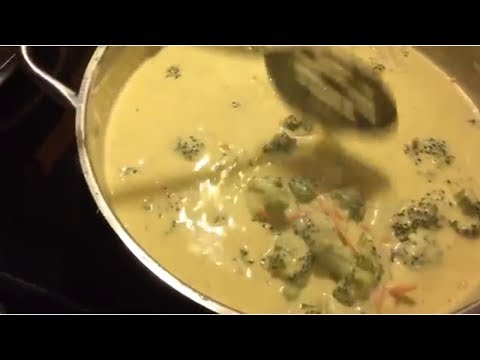 How To Make Broccoli Cheddar Soup