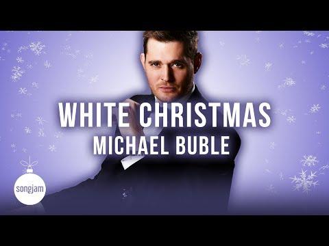 Michael Bublé White Christmas (official Karaoke Version)   Songjam