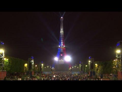 day 1 france – june 10th - light up the eiffel towerorange