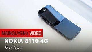 Mở hộp Nokia 8110 màu đen: Cong như chuối, cơ bản, phát wifi 4G - www.mainguyen.vn