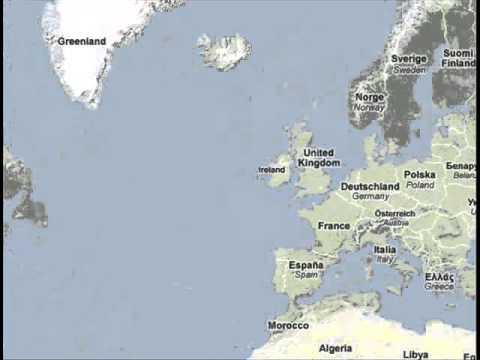 Viajar A Islandia Mapa Youtube