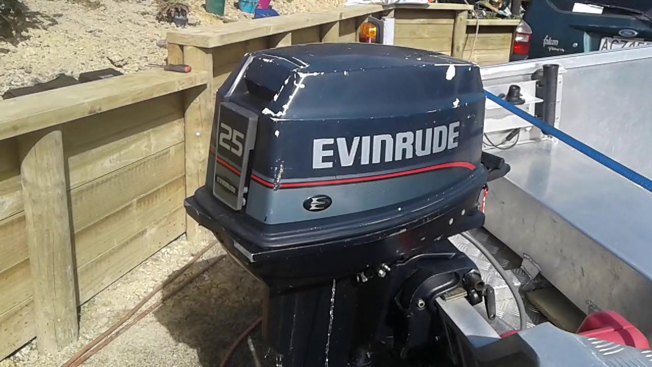 Evinrude 25hp run up