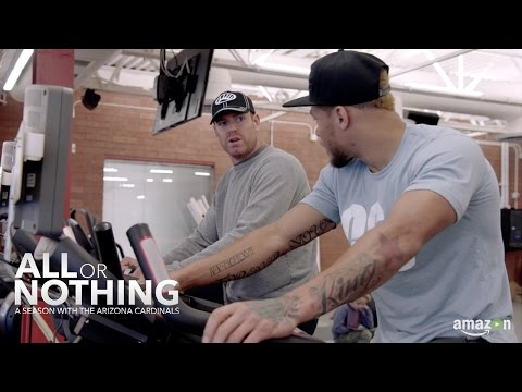 Carson Palmer Lamets Loss of Tyrann Mathieu | All or Nothing: A Season with the Arizona Cardinals