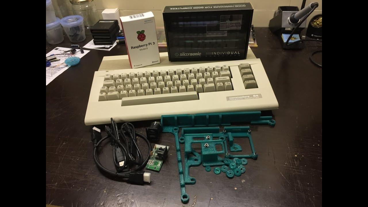 The C64 RetroPie Mod – breadbox64 com