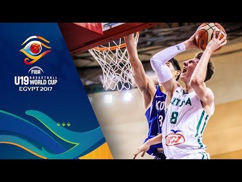 Korea v Lithuania - Full Game - Round of 16 - FIBA U19 Basketball World Cup 2017