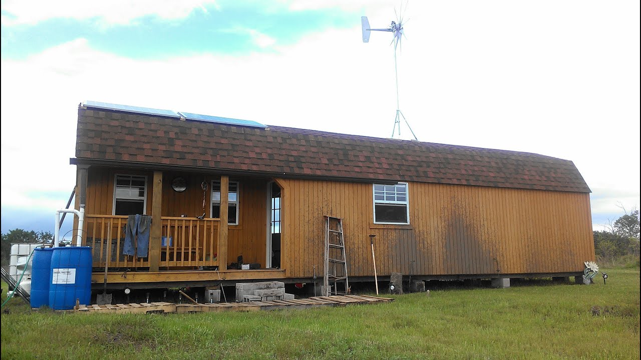 Installing A Wind Turbine Off Grid Tiny Home Diy Youtube