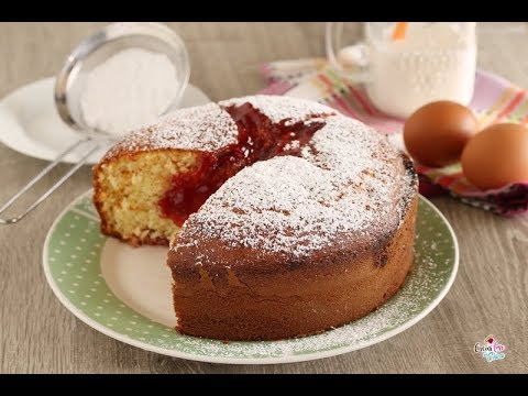 Torta Al Mascarpone E Marmellata Youtube