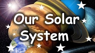 SOLAR SYSTEM - Sun Mercury Venus Earth Mars Jupiter Saturn Uranus Neptune