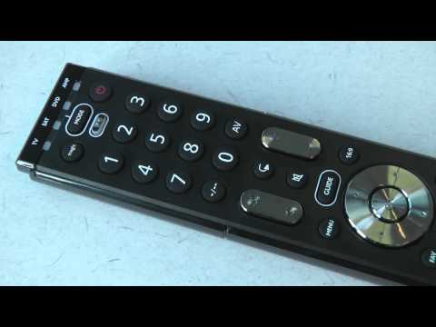 Universal Remote Control - URC 7120 / 7130 / 7140 Essence Combi Control | One For All
