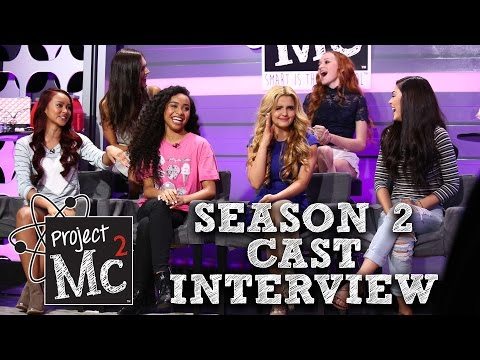 Project Mc² Season 2 Cast Interview