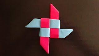 Origami ninja Star оригами звезда