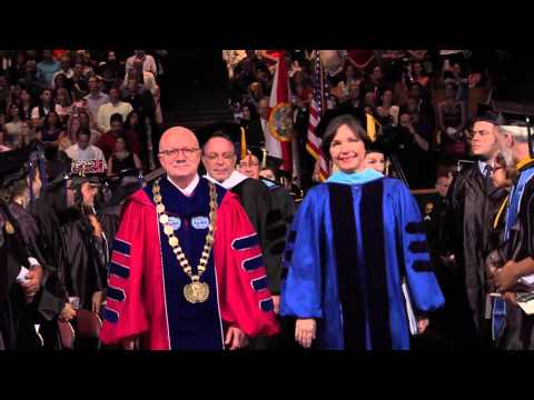 Miami Dade College Kendall Campus Commencement Ceremony 2015 - Part 1