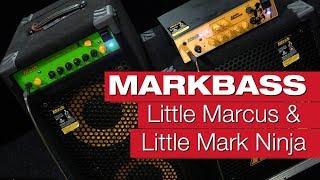 Markbass Little Marcus & Little Mark Ninja Bassverstärker-Review von Claudio Zanghieri und session