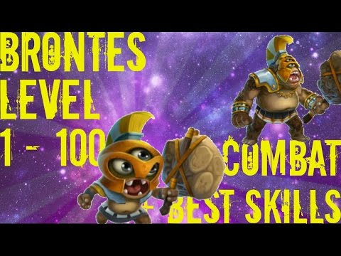 Monster Legends - Brontes - Level 1 to 100