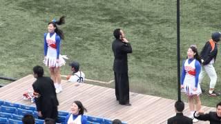 2014年4月20日神宮球場で行われた東京六大学野球秋季リーグ戦立教2回戦...