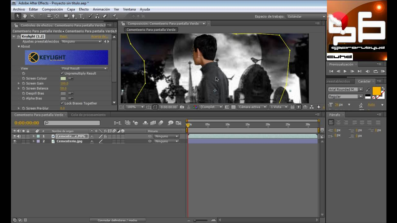 Tutorial text effects skew in adobe after effects cs4, cs3.