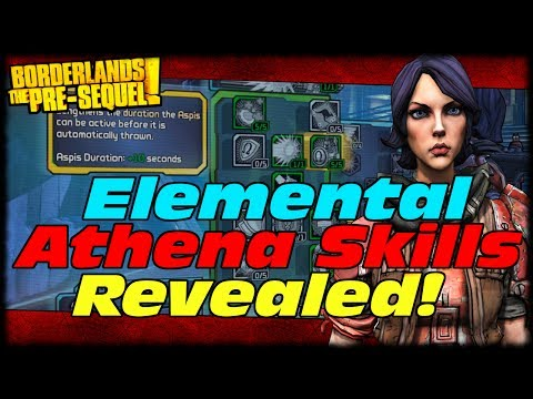 Borderlands The Presequel Athena's Ceraunic Storm Skill Tree Capstone & Skills Preview!