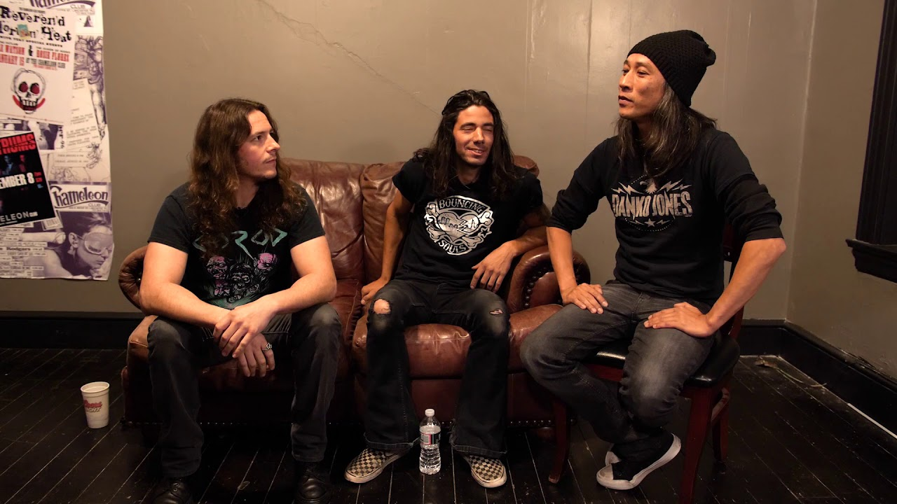 Death Angel: Ted sits down for a chat with Tony Campos (Hell Fire) & Chase Becker (Exmortus).