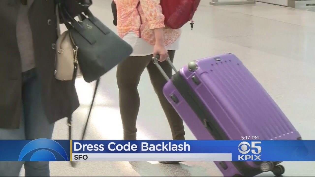 united airlines facing backlash over leggings dress code youtube
