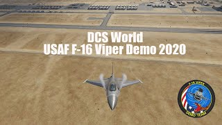 DCS: F-16 Viper Demo 2020 (4K)