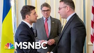 Trump Administration Models Corruption Even As It Scolds Ukraine | Rachel Maddow | MSNBC
