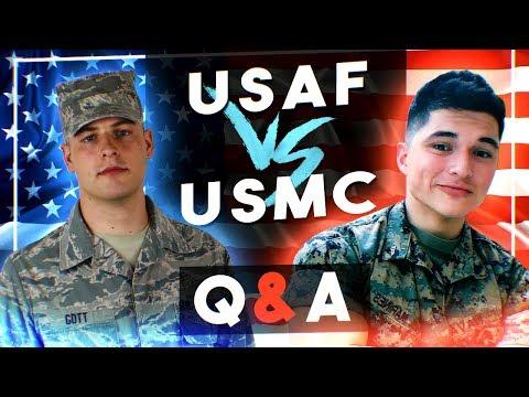 Airman vs Marine Q&A (Kyle Gott & NavaTheBeast)