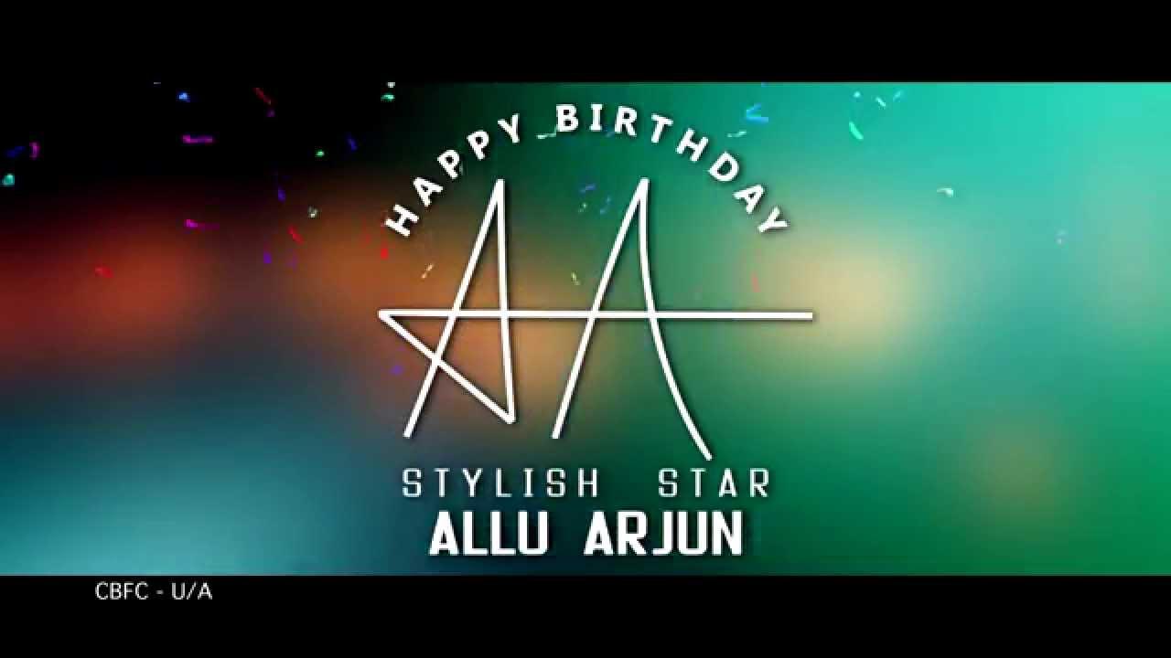 wishing stylish star allu arjun a very happy birthday s o