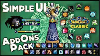Classic WoW Addons Pack - Simple Ui v2