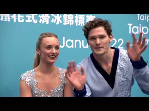2018 Four Continents - 1st group Pairs Free Skating (ITA)