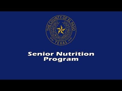 El Paso County Senior Nutrition Program