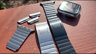 Apple Watch Stainless Steel Link Bracelet // Band Review
