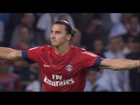 The incredible Kung Fu goal of IBRAHIMOVIC (23′) – OM-PSG (2-2) / 2012-13