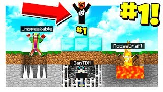 THE #1 YOUTUBER IN MINECRAFT!
