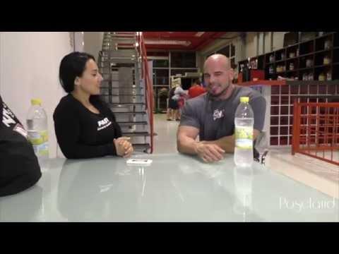 Entrevista y Entrenamiento a Sergio Fdez NPC por Alona TV Finland