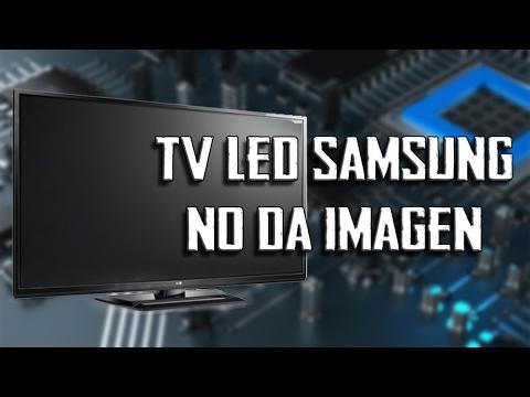 Tv Led Samsung no da imagen // Tv Led Samsung  No image