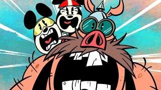 Road Hogs | Eine Mickey-Mouse-Cartoon | Disney Shorts