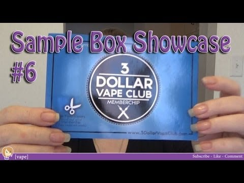 [vape] 3 Dollar Vape Club ~ Sample Box Showcase #6
