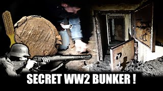 Dig up an abandoned bunker! With Urbexbunkerhunters
