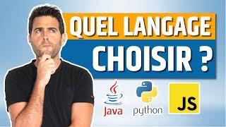 Quel langage de programmation choisir ?