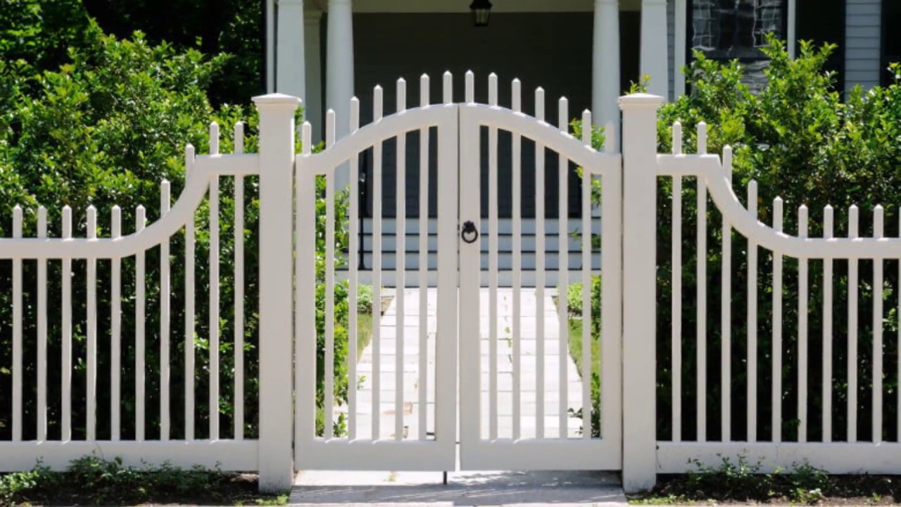 compound wall fence gate design ideas - YouTube
