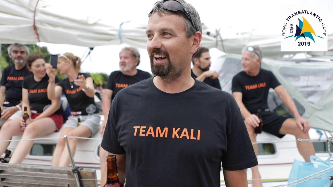 Kali completes 2019 RORC Transat - Dockside interviews, Grenada