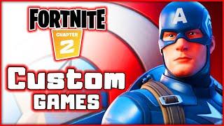 Fortnite! Captain America! Custom Games Solos! Squads!   Blitzwinger