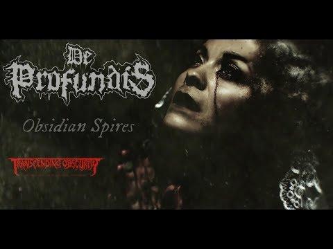 DE PROFUNDIS - Obsidian Spires (OFFICIAL LYRIC VIDEO)