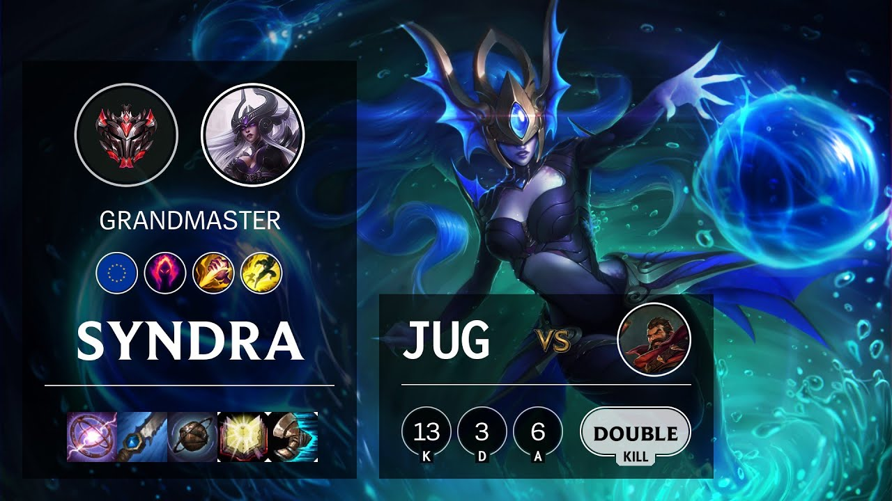 Download Syndra Jungle vs Graves - EUW Grandmaster Patch 10.14