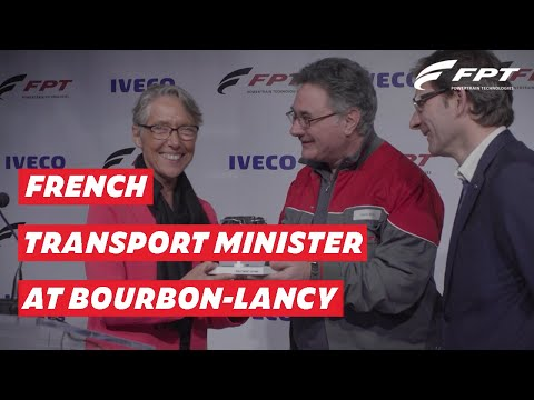 FPT Industrial welcomes French Transport Minister at Bourbon-Lancy plant