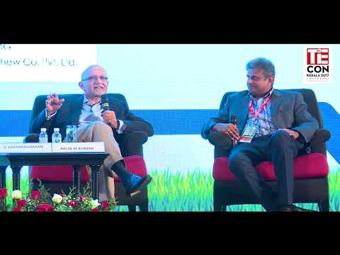 Arun M Kumar, Chairman and CEO, KPMG -TiECON Kerala 2017