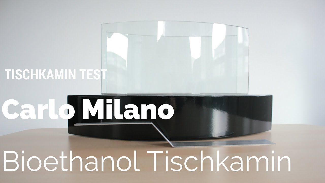 tischkamin test carlo milano bioethanol youtube. Black Bedroom Furniture Sets. Home Design Ideas