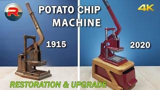 Restoration & Upgrade of a 100 year old potato chip machine [4K/UHD]